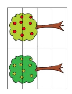 fall-autumn worksheets easy puzzle