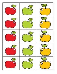 fall-autumn worksheets pattern