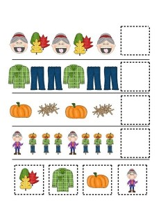 fall-autumn worksheets pattern cool