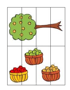 fall-autumn worksheetseasy puzzle