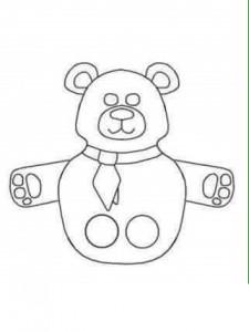 finger puppet worksheets bear