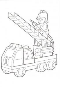 fireman cut and paste activities