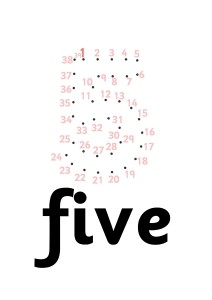 five dot to dot activities