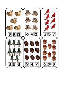 forest animals math (2)