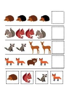 forest animals pattern