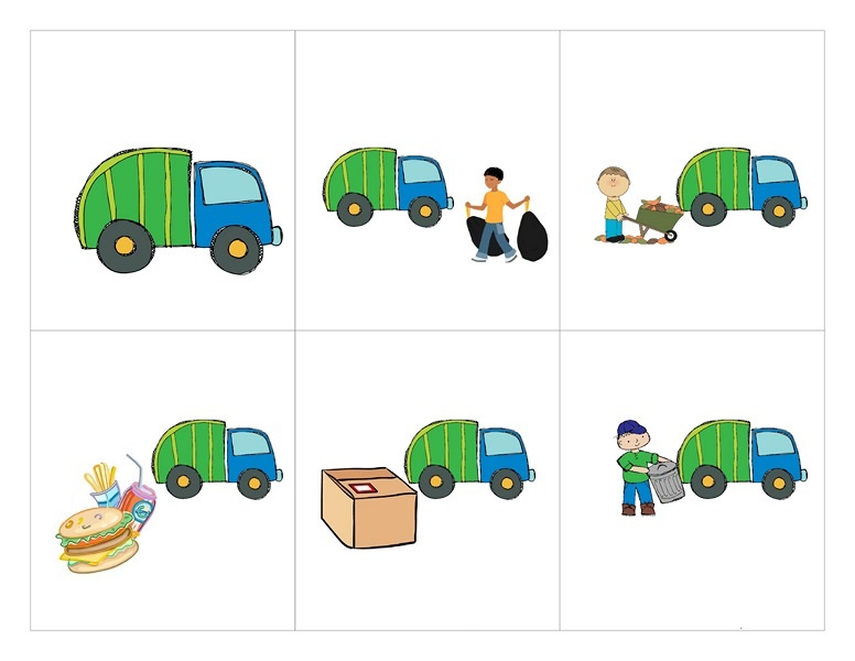 Garbage Truck Worksheets 3 171 Preschool And Homeschool