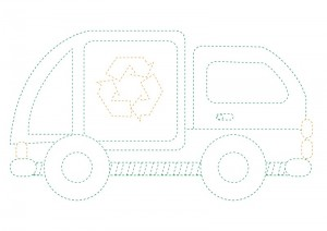garbage truck worksheets coloring pages (1)