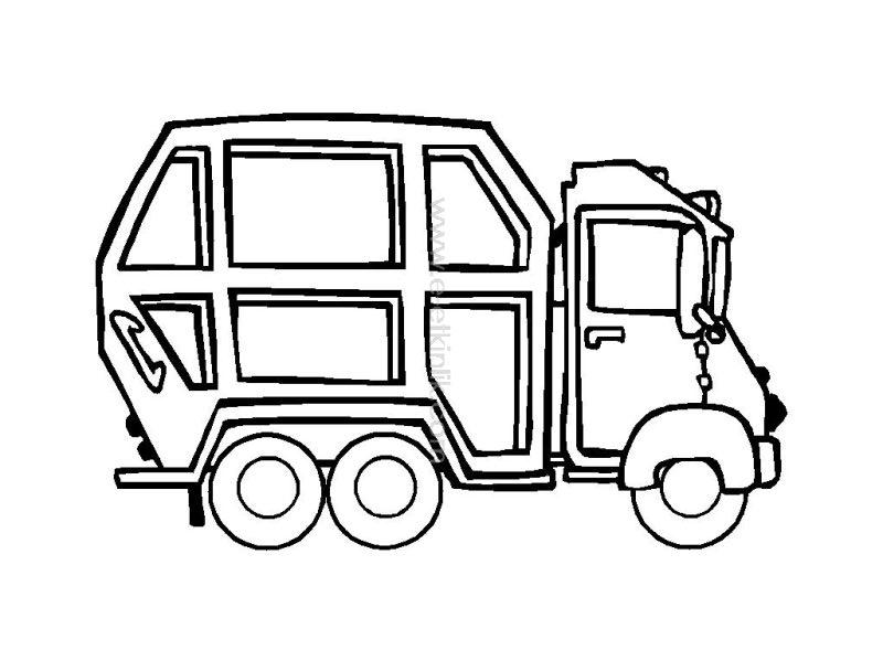 Garbage Truck Worksheets Coloring Pages 10 171 Preschool