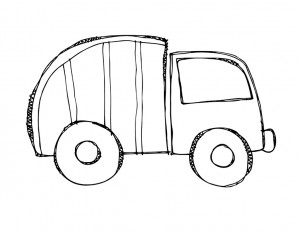 garbage truck worksheets coloring pages (4)