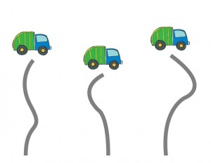 garbage truck worksheets cutting