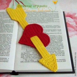 hand knitted bookmark crafts (11)