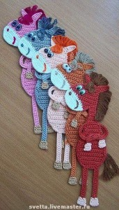 hand knitted bookmark crafts (2)