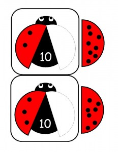 ladybugs math activities printables (26)