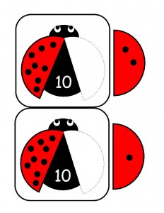 ladybugs math activities printables (4)