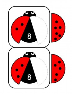 ladybugs math activities printables (7)