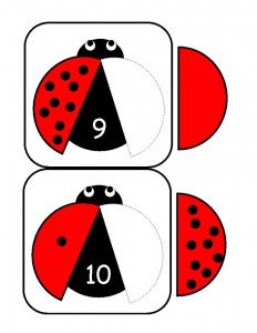 ladybugs math activities printables (8)