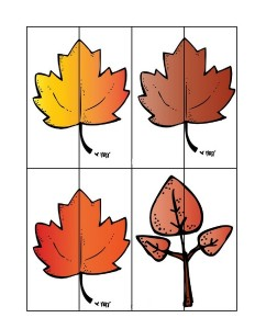 leaf themed puzzles (2)