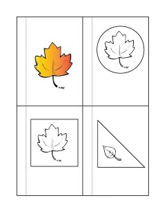 leaf themed shapes (2)