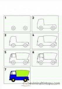 learn to draw vehicles (4)