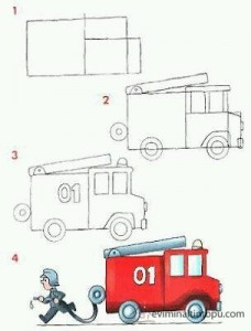 learn to draw vehicles (6)