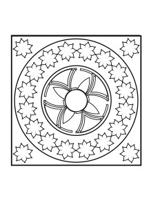 mandala exercise worksheets