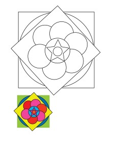 mandala worksheets activitiy