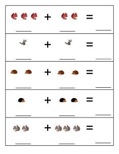 math forest animals