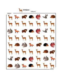 maze forest animals