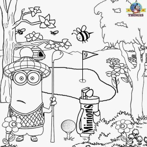 minions coloring pages for kıds