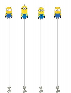minions cutting pages