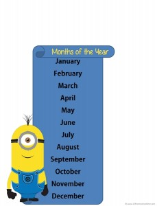 minions months