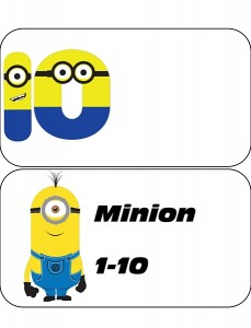 minions number