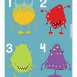 Printable Counting Activity for Preschoolers