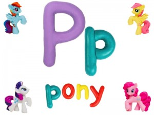 my little pony play dough