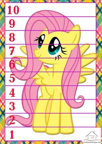 My little pony puzzle preschool and homeschool for My little pony craft ideas