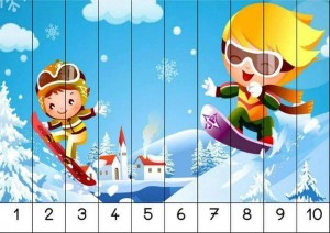 number 1-10 sequence puzzles (5)
