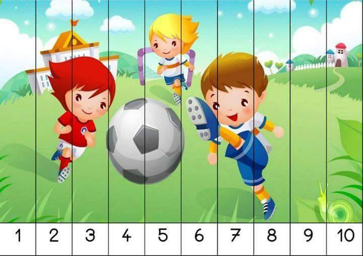 number 110 sequence puzzles 6 Preschool and Homeschool