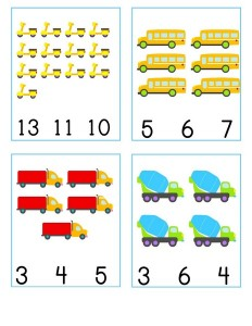 number cards vehicles  (5)