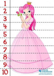 number puzzle princess