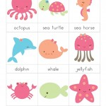 Ocean Animals Printables