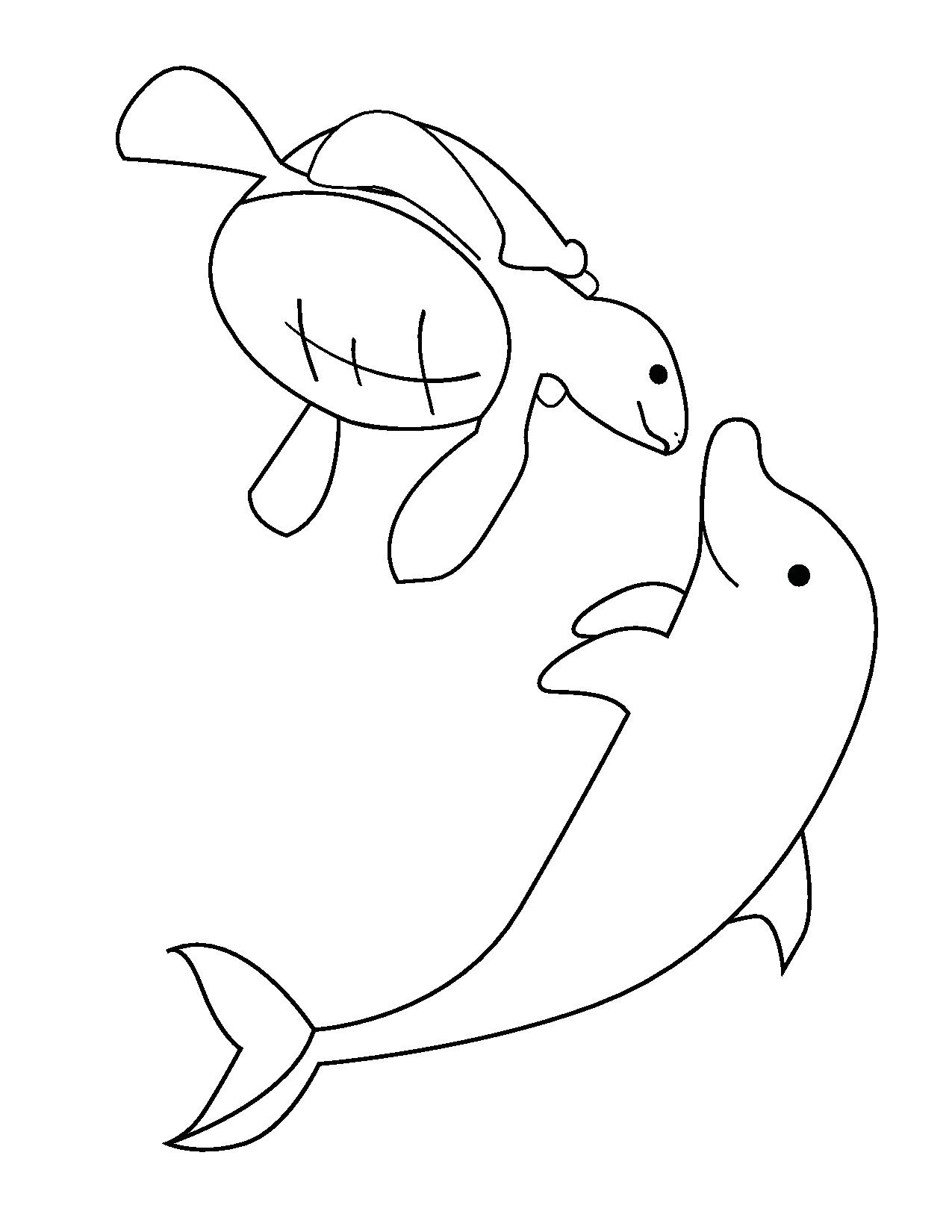 ocean animals coloring pages funnycrafts