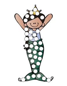 ocean animals do a dot activities for kıds (10)