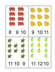 ocean animals number