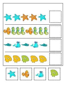 ocean animals pattern