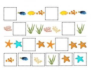 ocean animals pattern for kıds