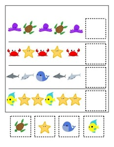 ocean animals pattern forkıds