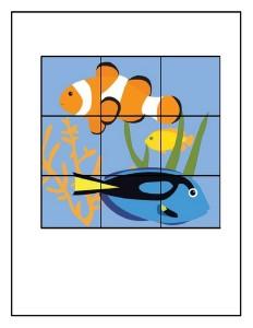ocean animals puzzles 9 piece