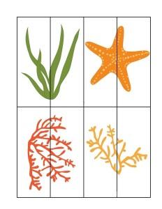 ocean animals puzzles example