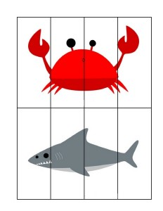 ocean animals puzzles for kıds