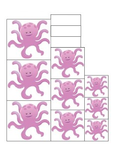 ocean animals worksheets size